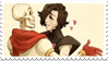 - Stamp: Papyrus x Mettaton EX (2). - by ChicaTH