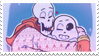 - Stamp: Sans and Papyrus. - by ChicaTH
