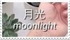 - Stamp: Moonlight. - by ChicaTH