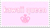 - Stamp: Kawaii queen. - by ChicaTH