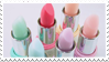 - Stamp: Pastel lipsticks. - by ChicaTH
