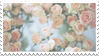 - Stamp: Pale roses. - by ChicaTH