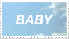 - Stamp: Baby. - by ChicaTH