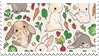 - Stamp: Bunnies. - by ChicaTH