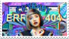 - Stamp: ERROR MELANIE. - by ChicaTH
