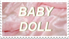 - Stamp: Baby Doll. - by ChicaTH