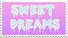- Stamp: Sweet Dreams. - by ChicaTH