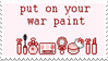 - Stamp: Put on your war paint. - by ChicaTH