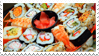 - Stamp: Sushi galore. - by ChicaTH
