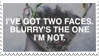 - Stamp: Blurry's the one I'm not. - by ChicaTH