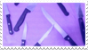 - Stamp: Purple knives. - by ChicaTH