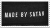 - Stamp: Made by Satan. - by ChicaTH