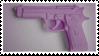 - Stamp: Purple gun. - by ChicaTH