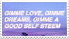 - Stamp: Gimme love, gimme dreams... - by ChicaTH