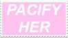 - Stamp: Pacify Her. - by ChicaTH