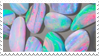 - Stamp: Rainbow stones. - by ChicaTH