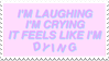 - Stamp: It feels like I'm dying. - by ChicaTH