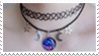 - Stamp: The stars, the moon, the galaxy. - by ChicaTH