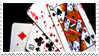 - Stamp: Bloody cards. - by ChicaTH