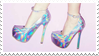 - Stamp: Holo-Shoes. - by ChicaTH