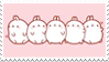 - Stamp: Molang. - by ChicaTH