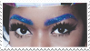 - Stamp: Glittery eyebrows. - by ChicaTH