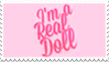 - Stamp: I'm a real doll. - by ChicaTH