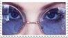 - Stamp: Purple round lenses. - by ChicaTH