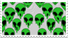 - Stamp: Dripping aliens. - by ChicaTH