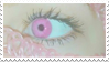 - Stamp: Pink eyes. - by ChicaTH