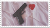 - Stamp: Gun and lollipop. - by ChicaTH