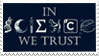 - Stamp: In SCIENCE we trust. - by ChicaTH
