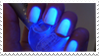 - Stamp: Glowing nails. - by ChicaTH
