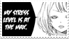 - Stamp: My stress level is at the max. - by ChicaTH