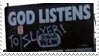 - Stamp: God listens to Slayer! - by ChicaTH