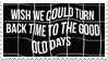 - Stamp: Wish we could turn back time... - by ChicaTH