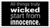 - Stamp: All things truly wicked... - by ChicaTH
