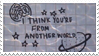 - Stamp: I think you're from another world. - by ChicaTH
