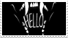 - Stamp: HELLO. - by ChicaTH
