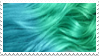 - Stamp: Mermaid hair. - by ChicaTH