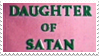- Stamp: Daughter of Satan. - by ChicaTH