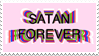 - Stamp: Satan Forever. - by ChicaTH