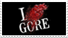 - Stamp: I LOVE GORE. - by ChicaTH