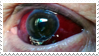- Stamp: Bloodshot eye. - by ChicaTH