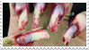 - Stamp: Bloody, ruined nails. - by ChicaTH