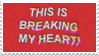 - Stamp: This is breaking my heart! - by ChicaTH