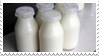 - Stamp: Bottles of milk. - by ChicaTH