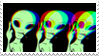 - Stamp: Edgy alien. - by ChicaTH