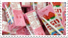 - Stamp: Strawberry milk cartons. - by ChicaTH