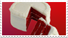- Stamp: Red velvet cake. - by ChicaTH